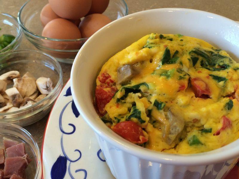 Egg Scramble in a Mug