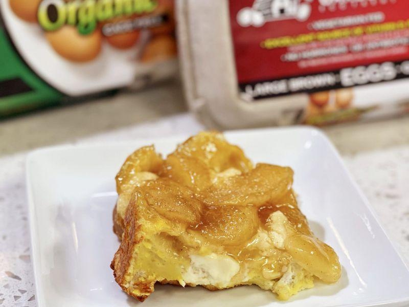Apple French Toast Stratta