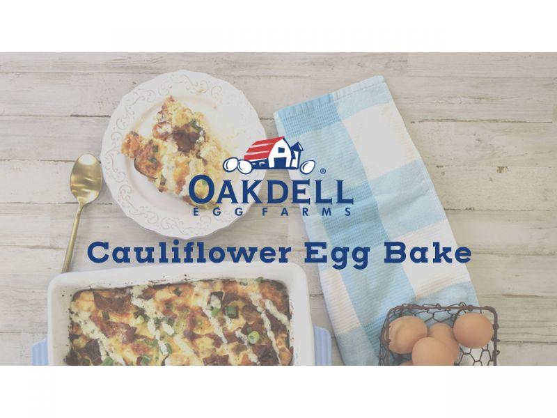 Cauliflower Egg Bake