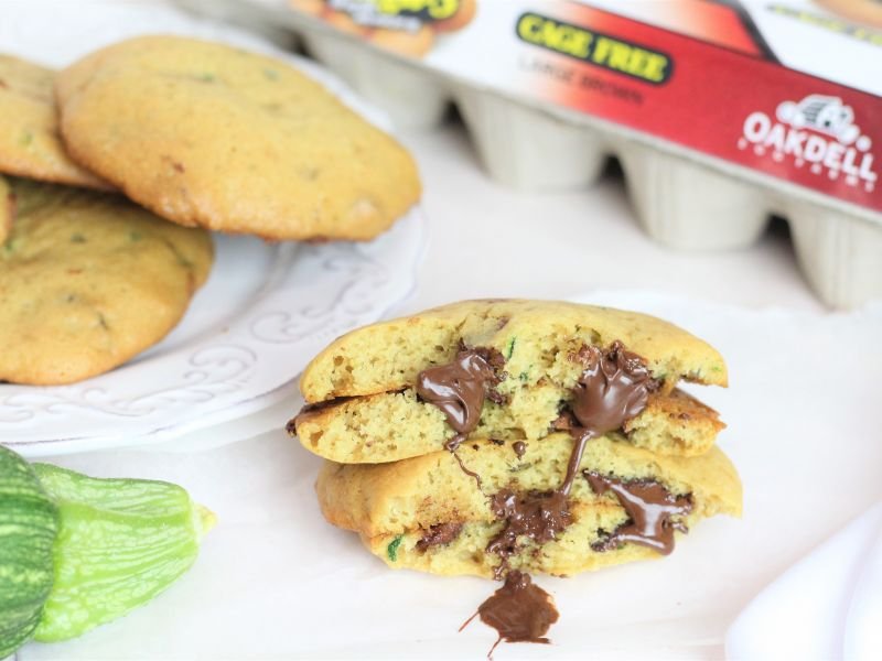Cakey Zucchini Chocolate Chip Cookies