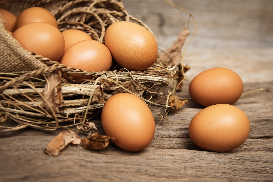 Cage-Free Organic Brown Eggs